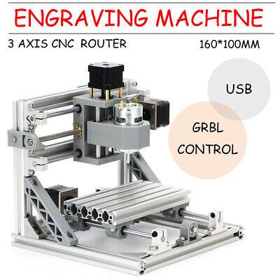 Mini Cnc Router 1610 500mw Laser Engraver Machine Pcb Usb Milling Grbl Control
