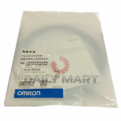 New Omron E32-tc200 E32tc200 Photoelectric Fiber Optic Unit Switch Sensor