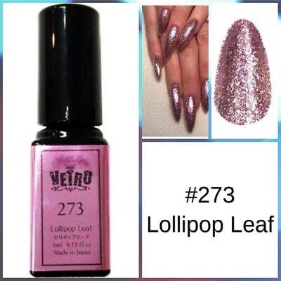 Vetro Gel Leaf Glitter Nail Polish 273 Lollipop Leaf 4Ml Japan Free Shipping