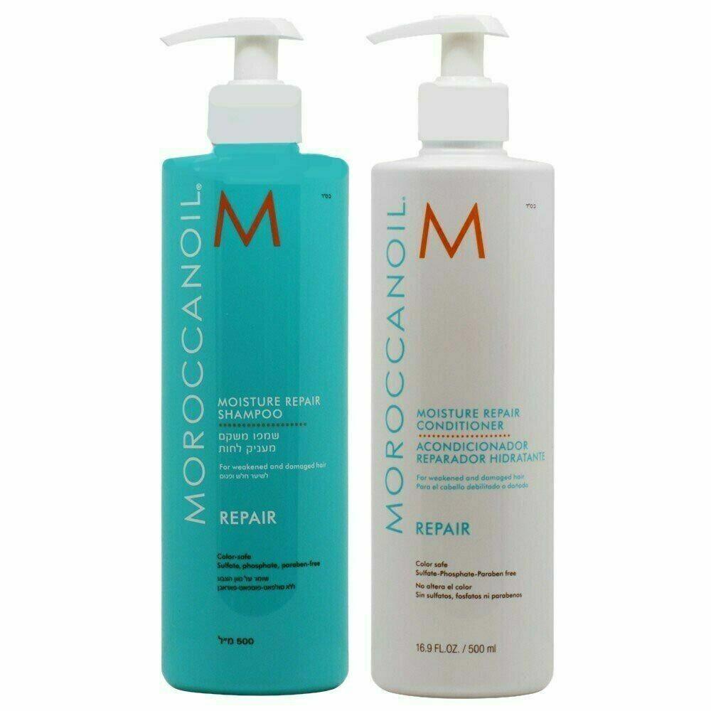 Moroccanoil Moisture Repair Shampoo And Conditioner 16.9 Fl