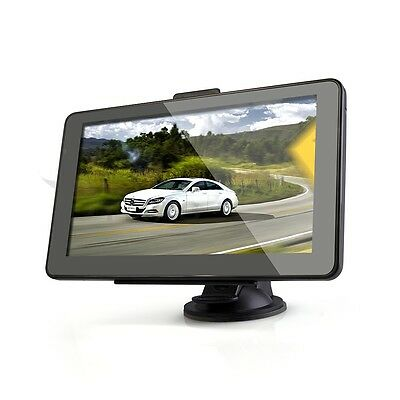 Car 7 inch GPS Navigation Bluetooth AV-IN 128MB RAM 4GB with Western Europe Map