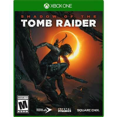 Shadow of the Tomb Raider Xbox One Brand New Sealed