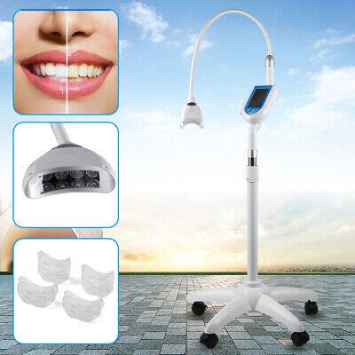Dental 5 Inch Touch Screen Led Teeth Whitening System Bleaching Light Lamp 110v