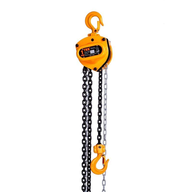 1 ton Industrial Manual Chain Hoist 2200lbs 10ft Lift