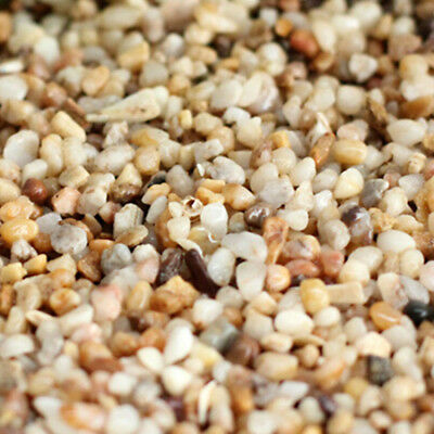 50G Natural River Gravel Stone For Aquarium Fish Tank Sand Decoration Accessory