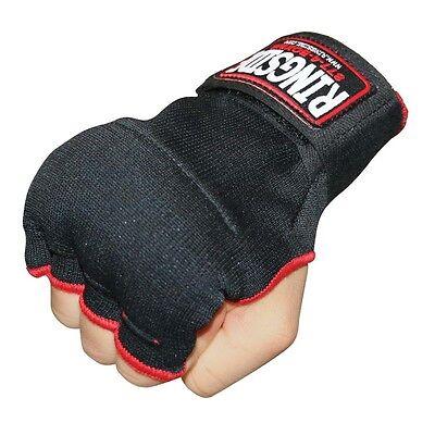 New Ringside Boxing MMA KickBoxing Quick Handwraps Hand Wrap Wraps - Black