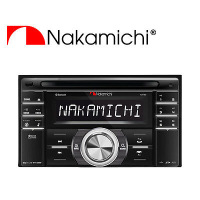 NEW NAKAMICHI Double Din CD USB SD Receiver NA788  NA-788, used for sale  Shipping to Canada
