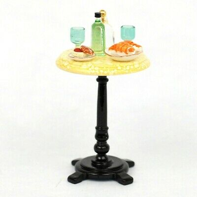 Reutter Porcelain Dollhouse Miniature ALCOHOL SPIRITS DRINK BISTRO CAFE TABLE