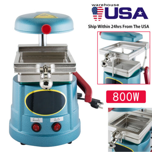 Dental Vacuum Forming Molding Machine Former Heat Thermoforming Lab Equipment A+