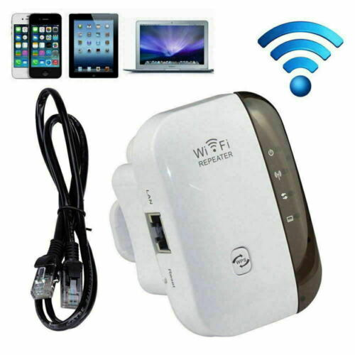WiFi Range Extender Internet Booster Network Router Wireless Signal Extender