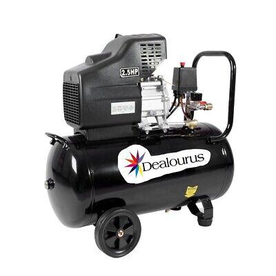 Portable 50L Litre Air Compressor Mobile 9.6CFM 2.5HP