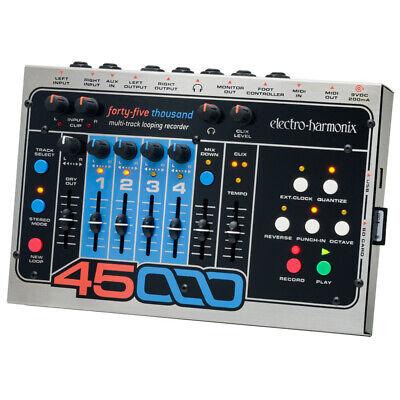Electro-Harmonix 45000 Multi-Track Looping Guitar Live Looper Recorder Mixer EHX