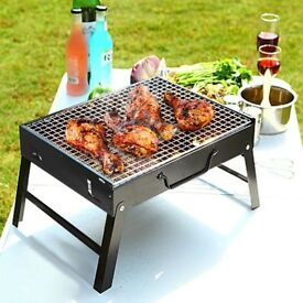 BBQ Barbecue Grill Folding Portable Charcoal Camping Garden Outdoor Travel Large NEW PACKED