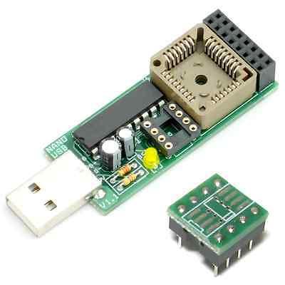 NANO USB Programmer + SOP8 Adpater for BIOS repairing