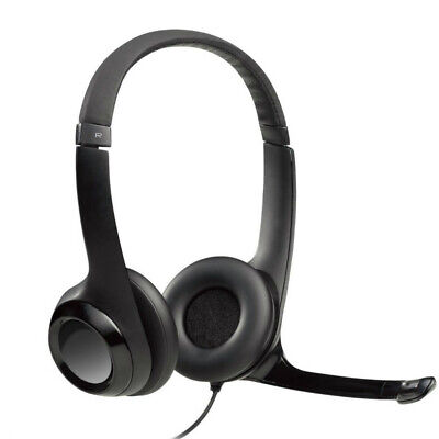 Logitech H390 ClearChat Comfort USB Headset Noise Cancelling -