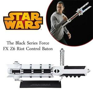 NEW Star Wars The Black Series Force FX Z6 Riot Control Baton Condtion: Brand new, Standard