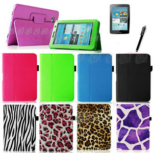 PU-Leather-Case-Cover-Stand-For-Samsung-Galaxy-Tab-2-7-0-7-Tablet-Protector-Pen