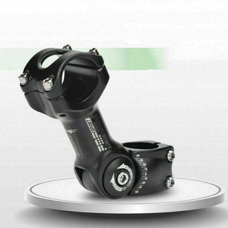 US 25.4/31.8mm Mountain Road Bike Adjustable Stem Riser MTB Bicycle Handlebar