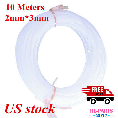 10 Meters 2mm3mm Eco Solvent Pe Hard Ink Tube For Roland Mimaki Muto-us Stock