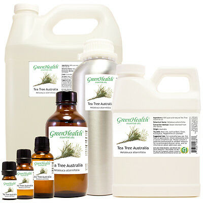Tea Tree Australia Essential Oil 100% Pure Choice from 5ml to 1 gallon FreeShip
