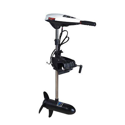 ii 12V 45LB Electric Trolling Motor Outboard Inflatable Fishing Boat Engine