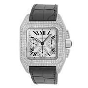 Cartier Santos Diamond