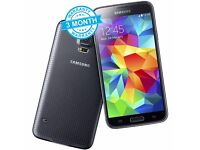 Samsung Galaxy S5 G900F Black 16GB Unlocked Mobile Phone Smartphone A+ Condition