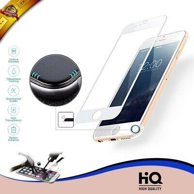 PROTECTOR PANTALLA CURVO COMPLETA CRISTAL TEMPLADO IPHONE 7 IPHONE 7S 3D BLANCO