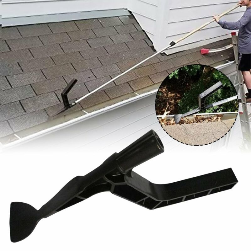 The Gutter Tool Scoop Behind Skylight Roof Cleaning for Home Garden Supply CZ