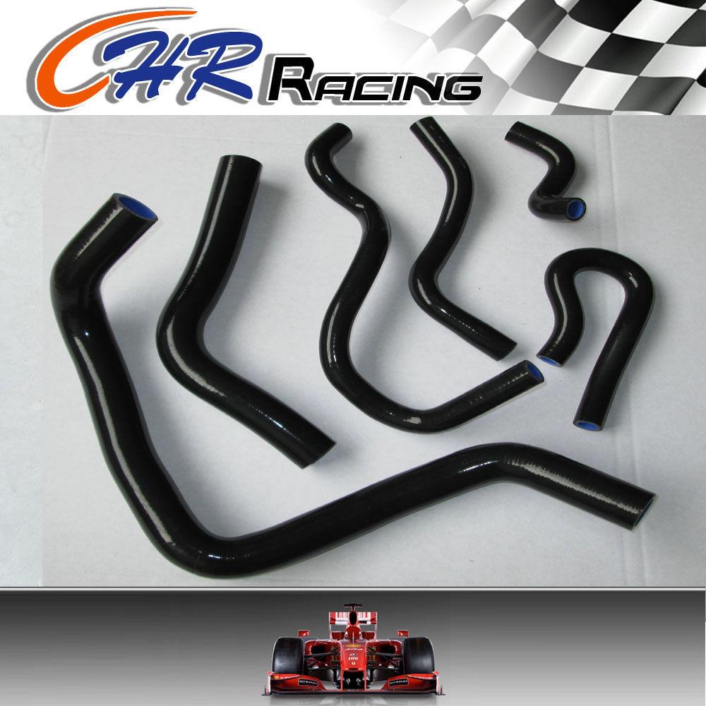 Silicone Radiator Hose for Honda Civic B Series Type R DC2 EK4 EK9 B16A//B Black
