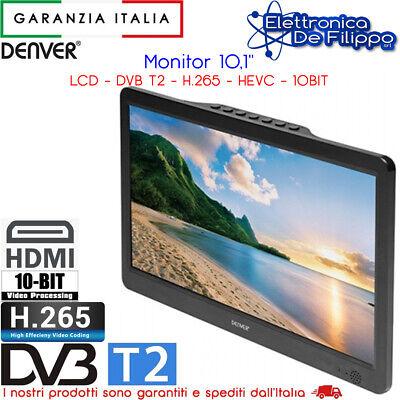 """TV LCD 10.1"""", DVB-T2 H.265 HEVC 60HZ 10BIT DENVER LED-1032"""