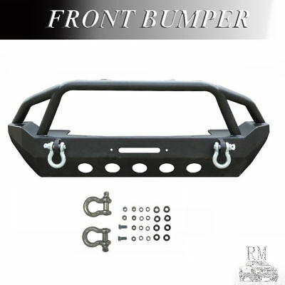 For 2007-2017 JEEP WRANGLER JK Front Bumper Rock Crawler w/ Winch Plate On Sale