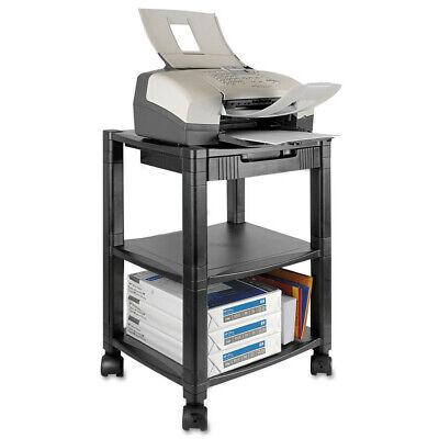 Kantek Mobile Printer Standthree-shelf17w X 13-14d X 24-14hblack Ps540 New