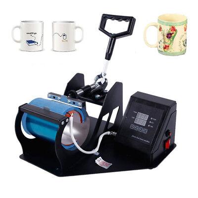 Digital Diy Print Pattern Cup Heat Press Transfer Sublimation Machine Practical