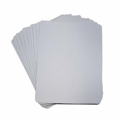 10pcs Blank Mouse Pad Heat Press Printing Crafts For Sublimation Ink Transfer
