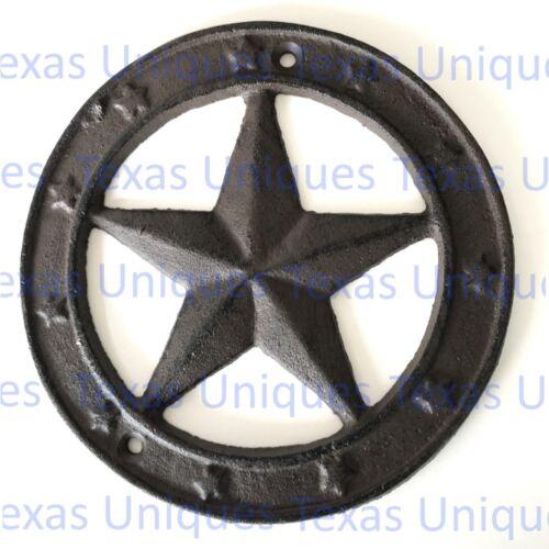 Cast Iron Texas Star Plaque ST35-A