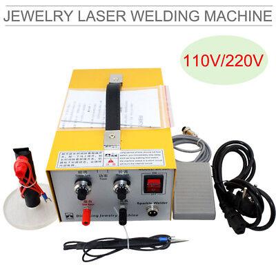 Usa 110v Pulse Sparkle Spot Welding Machine Jewelry Welder For Necklace Platinum