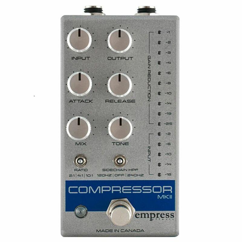 Empress Effects Compressor MKII Silver