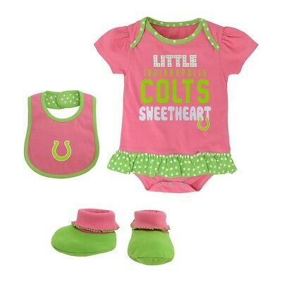 Indianapolis Colts NFL Infant Pink