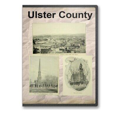 Ulster County & Kingston New York NY History Culture Genealogy 27 Books - D355