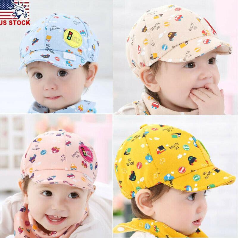 Newborn Baby Kids Boy&Girl Floral Sun Hat Toddler Fashion Ba