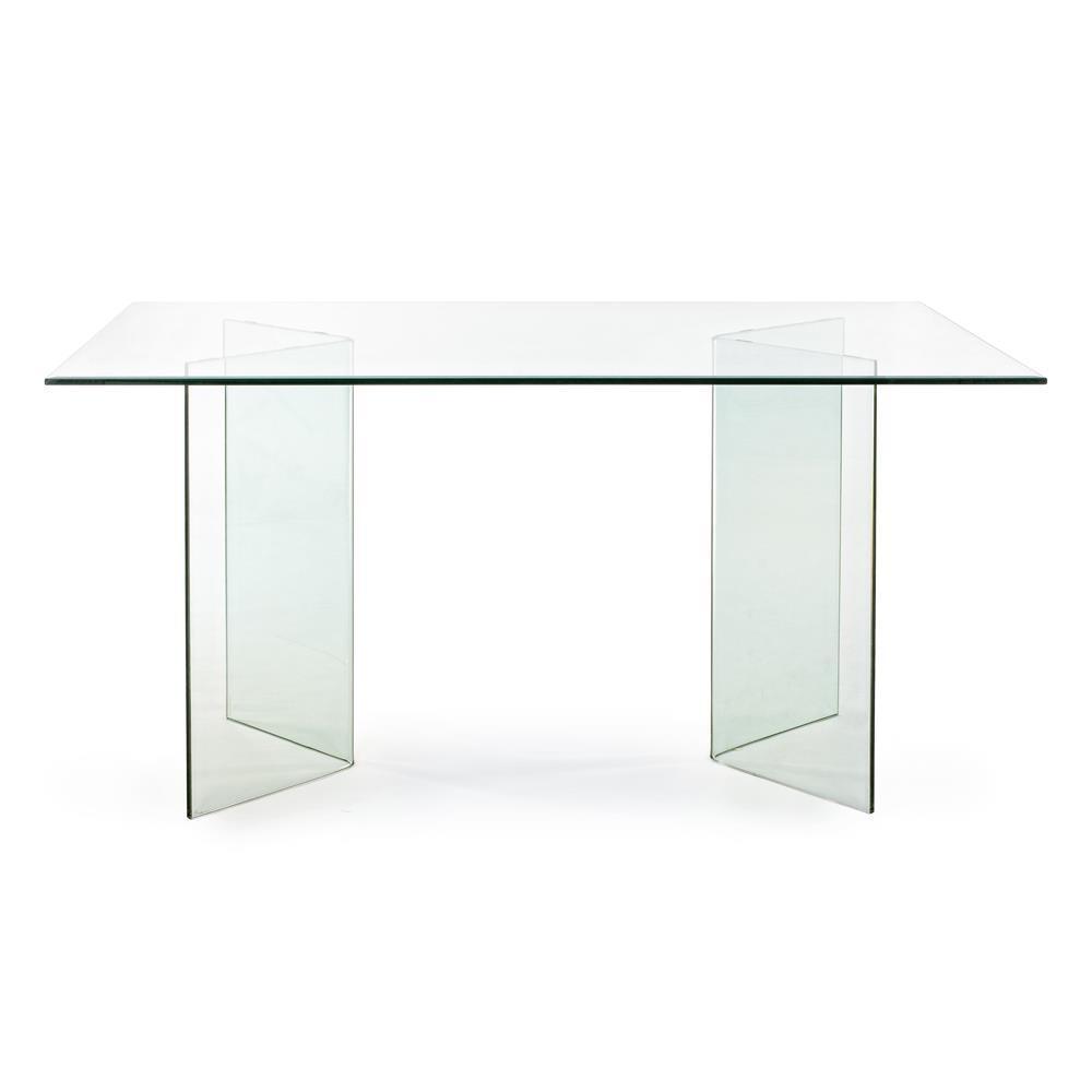 tavolo in vetro temperato spessore 12 mm tavoli da pranzo moderno design