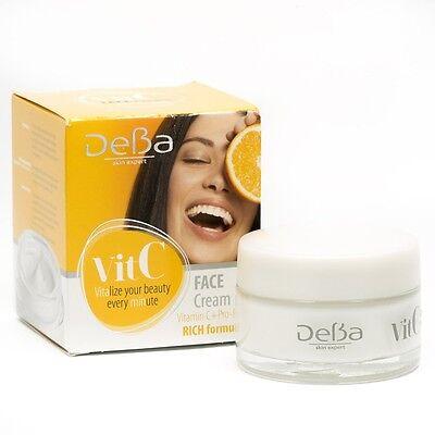 Best Moisturizing Care Vit. C Rich Formula Cream with Pro-Retinol, Licorice (Best Vit C Face Cream)