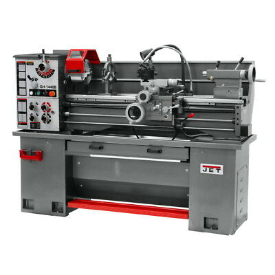 Jet Gh-1440b Bench Lathe With Stand And Foot Brake Pn 331440