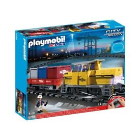 Playmobil Freight Train, retired set