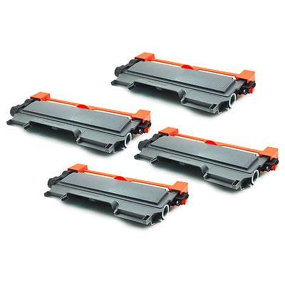 4pk For Brother TN-450 Black Toner Cartridge High Yield HL-2240 2270DW MFC-7360N
