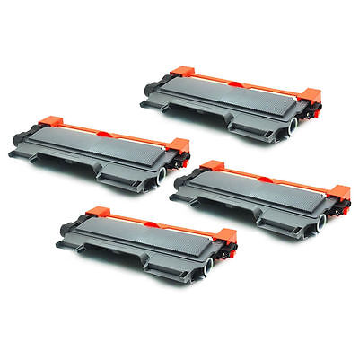 4pk For Brother TN-450 Black Toner Cartridge High Yield HL-2240 2270DW MFC-7360N