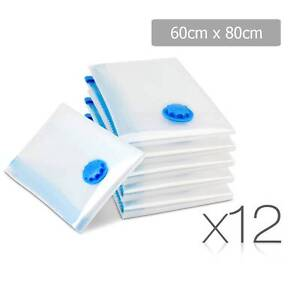 Free Delivery: Set of 12 Vacuum Storage Bags 60 x 80cm Homebush Strathfield Area Preview