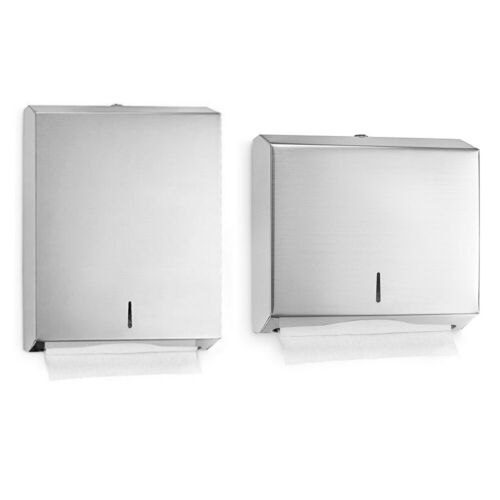 Alpine Stainless Steel C-Fold Lockable Commercial Paper Towel Dispenser