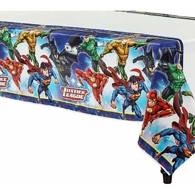 Justice League Table Cover 1 Per Package Birthday Party Supplies NEW Youth League Package